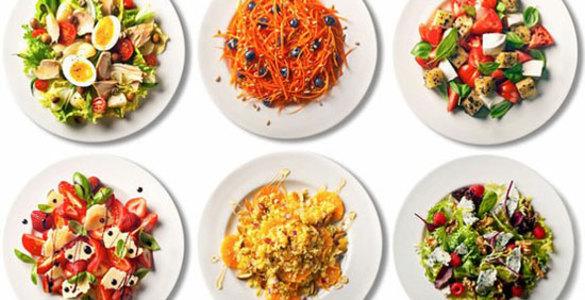 диетические салаты и закуски