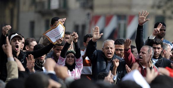причины восстания в египте
