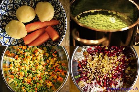 Оригинальный рецепт салата винегрет