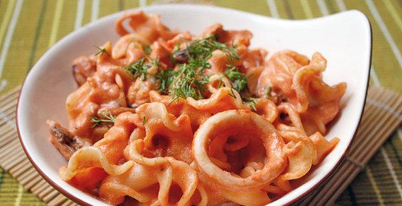 из морепродуктов рецепты с фото