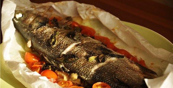 Блюда из рыбы рецепты сибас