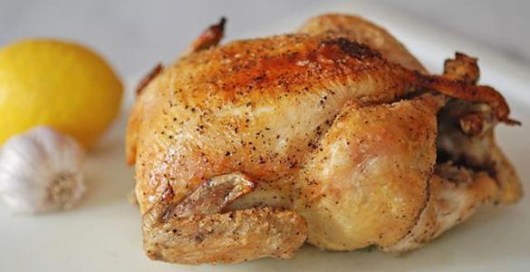 Куриная голень запеченная с картошкой в рукаве в духовке рецепт