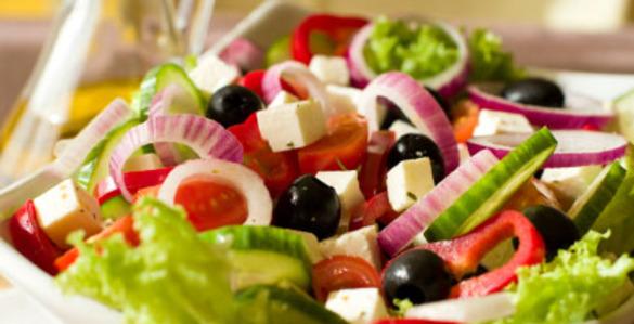 Рецепт настоящего греческого салата!!