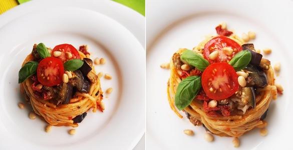 соус из баклажанов и помидоров для спагетти