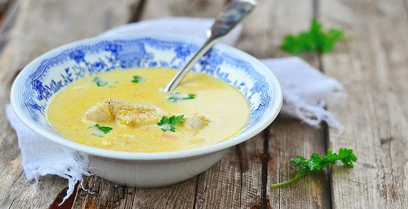 рецепт супа пюре из курицы с грибами
