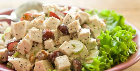 салат с куриным мясом рецепт