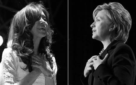 клинтон, фернандес.. кажется это общее место всех женских кампаний