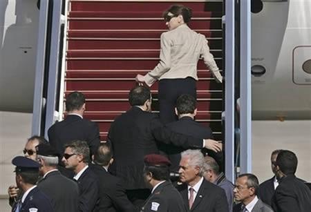 инцидент с саркози в аэропорте бен-гурион израиль 2008