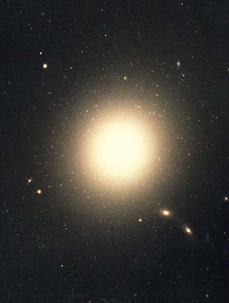 галактика m87