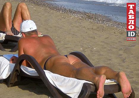 василий онопенко на пляже
