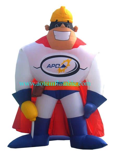 надувной супергерой