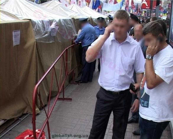 Переполох в лагере защитников Тимошенко