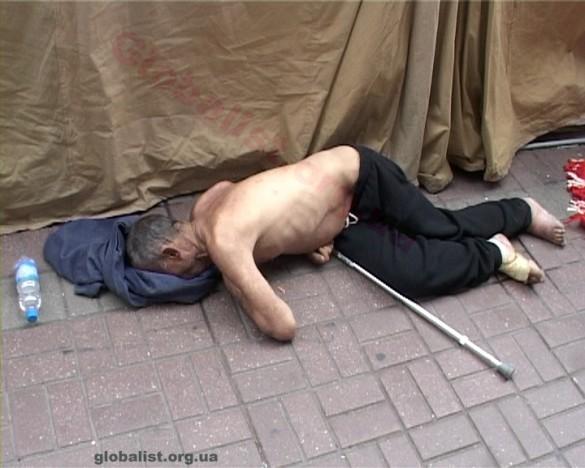 Умерший в палаточном городке БЮТ
