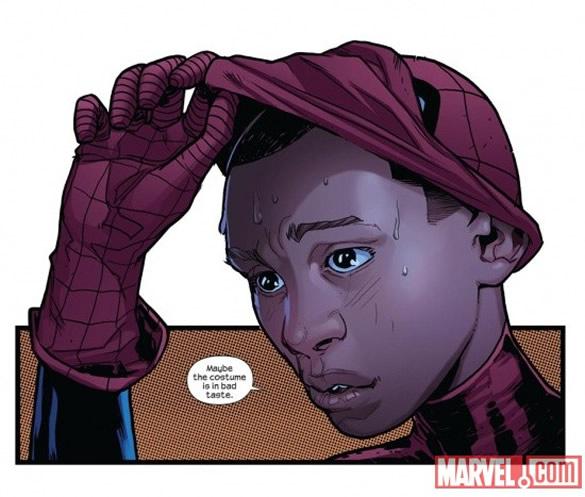 А это новый Спайдермен, Майлз Моралез.