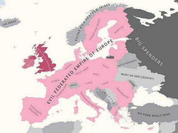 Европа глазами британцев