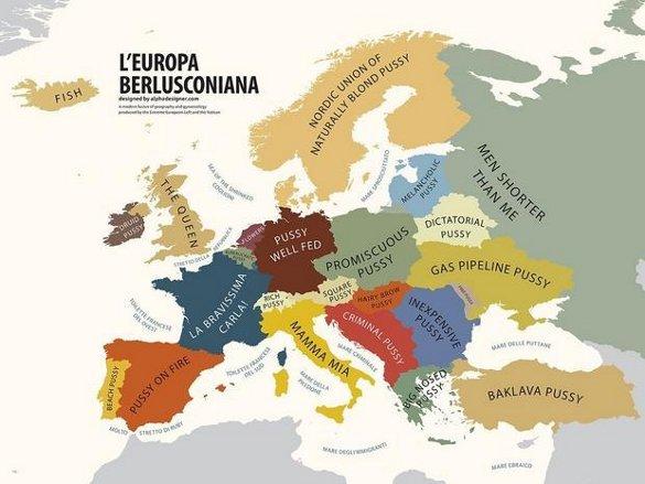 Европа глазами сексуального меньшинства Италии