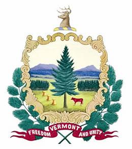 Настоящая печать штата Вермонт